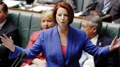 Gillard's stand against sexism was on the same day she cut the payments of single parents