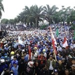Millions join national strike across Indonesia