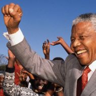 Nelson Mandela was a symbol of defiance against injustice that inspired a great movement of resistance and solidarity.