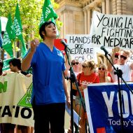 Thousand rally to save Medicare
