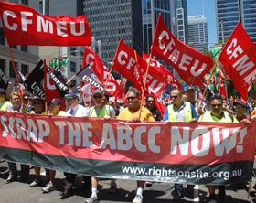Unions will rally on April 28 against the ABCC and have promised to defend anyone who defies the commission\'s extreme interrogation powers