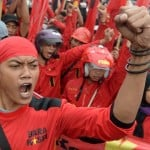 Workers and the poor resist fuel price hike in Indonesia